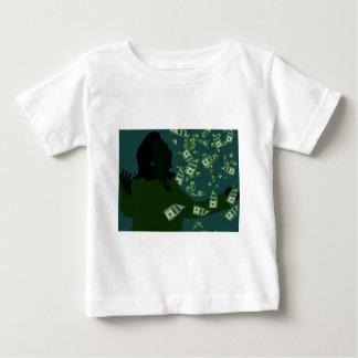 Camiseta Para Bebê Hillary Clinton corrompida
