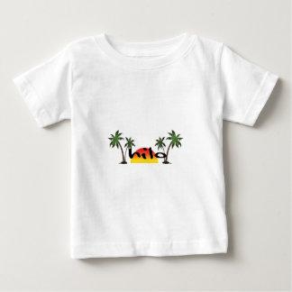 Camiseta Para Bebê Hilo Havaí