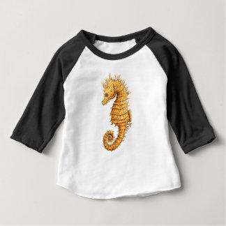 Camiseta Para Bebê Hipocampo do hipocampo do cavalo de mar