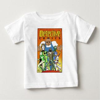 """Camiseta Para Bebê História em quadrinhos defeituosa """"rei design do"""