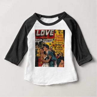 Camiseta Para Bebê Histórias de amor
