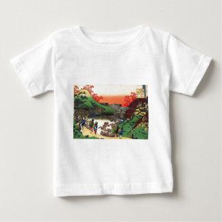 Camiseta Para Bebê Hokusai - arte japonesa - Japão