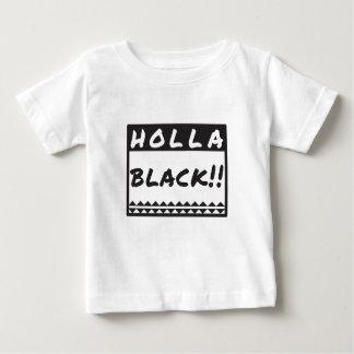 Camiseta Para Bebê holly_black