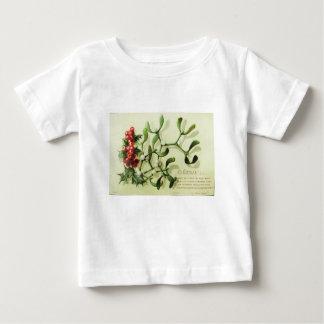 Camiseta Para Bebê Holly_Christmas_card_