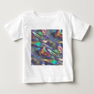 Camiseta Para Bebê holográfico