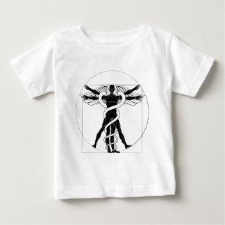 Camiseta Para Bebê Homem de Vitruvian do Caduceus