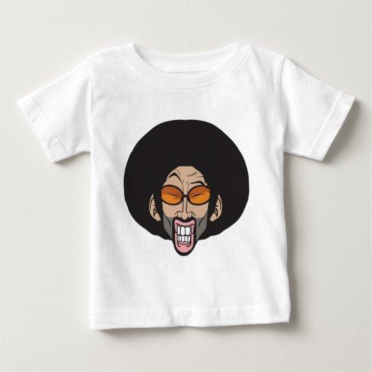 Camiseta Para Bebê Homem do Afro de Hiphop