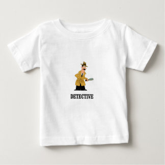 Camiseta Para Bebê homem do detetive