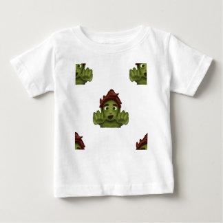 Camiseta Para Bebê homem do zombi do emoji