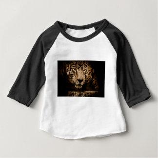 Camiseta Para Bebê Homem temível Menacing de desengaço dos olhos da
