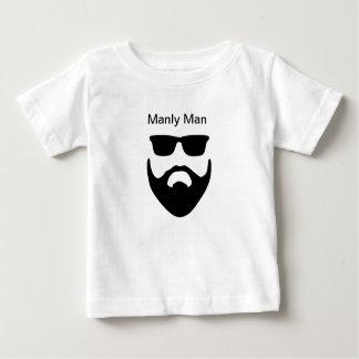 Camiseta Para Bebê Homem viril