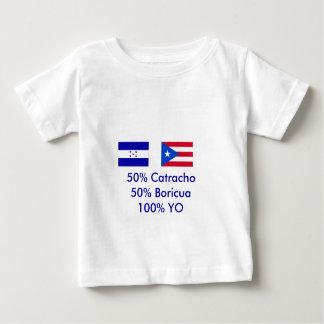 Camiseta Para Bebê Honduras Puerto Rico - personalizado