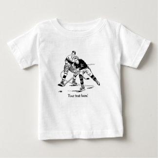 Camiseta Para Bebê Hóquei em gelo