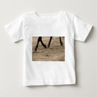 Camiseta Para Bebê Horse hooves