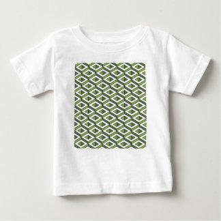 Camiseta Para Bebê hortaliças e couve da geometria 3d