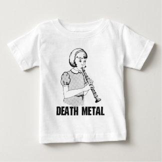 Camiseta Para Bebê Humor engraçado do metal pesado do gênero da