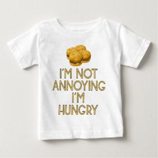 Camiseta Para Bebê Hungry Jejuas Food Burger almoço fome Dinner