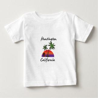 Camiseta Para Bebê Huntington Beach