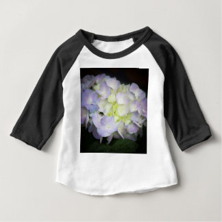 Camiseta Para Bebê hydrangea