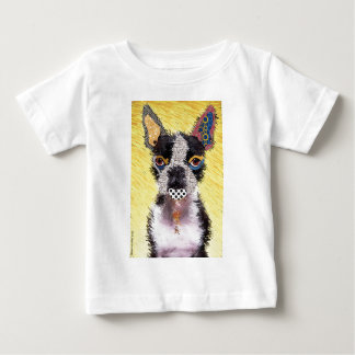 Camiseta Para Bebê I love bulldog