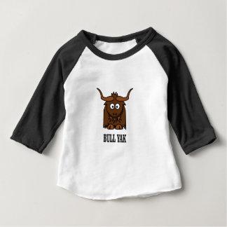 Camiseta Para Bebê iaques do touro