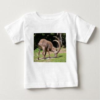 Camiseta Para Bebê Íbex alpino que pasta