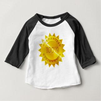 Camiseta Para Bebê Ícone garantido da medalha de ouro de 100 por
