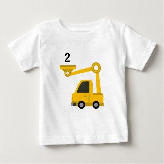 Camiseta Para Bebê Idade 2 do t-shirt do escavador