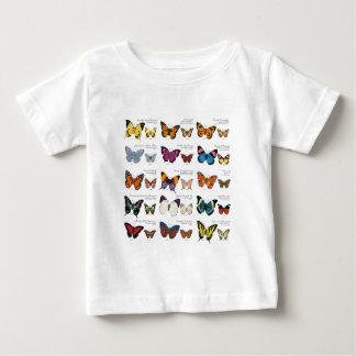 Camiseta Para Bebê Identificação da borboleta