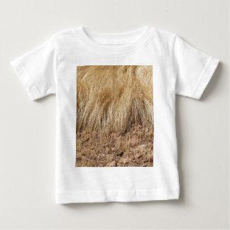 Camiseta Para Bebê iDetail de um campo do teff durante a colheita