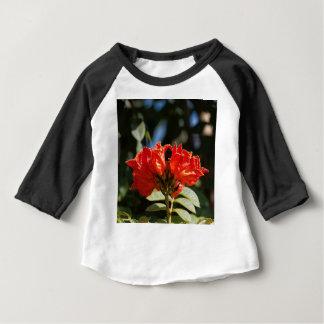 Camiseta Para Bebê iFlowers de um tuliptree africano