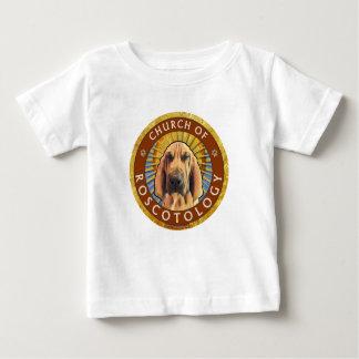 Camiseta Para Bebê Igreja de Roscotology (logotipo do círculo)