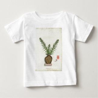 Camiseta Para Bebê ikebana 17 por fernandes tony