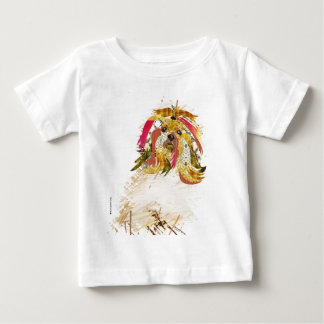 Camiseta Para Bebê Il Love Lhasa apso