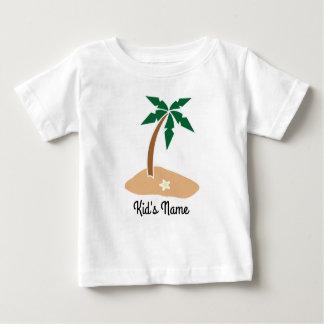 Camiseta Para Bebê Ilha pequena