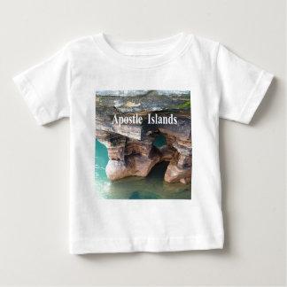 Camiseta Para Bebê Ilhas do apóstolo