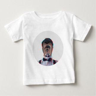 Camiseta Para Bebê Ilusão de Glitchy