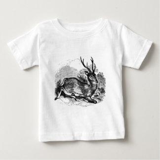Camiseta Para Bebê Ilustração personalizada fanfarrão dos cervos de