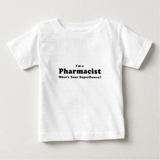 Camiseta Para Bebê Im um farmacêutico o que é sua superpotência