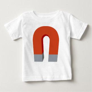 Camiseta Para Bebê Ímã em ferradura