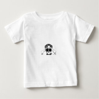 Camiseta Para Bebê imagem da menina do espião