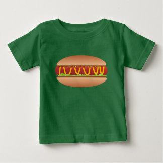 Camiseta Para Bebê Imagem do Hotdog