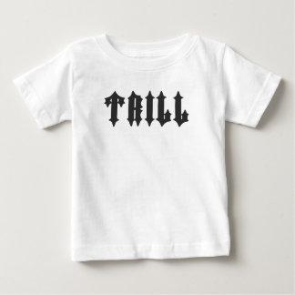 Camiseta Para Bebê Impressão agradável do Trill