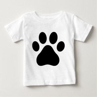 Camiseta Para Bebê Impressão da pata