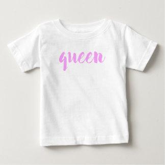Camiseta Para Bebê Impressão da rainha