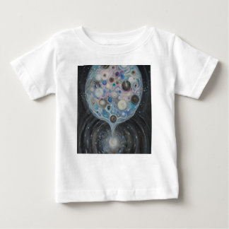 Camiseta Para Bebê Impressão das belas artes