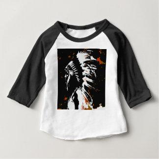 Camiseta Para Bebê Indiano do nativo americano