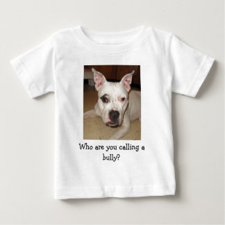 Camiseta Para Bebê INF-Que é você que chama uma intimidação?