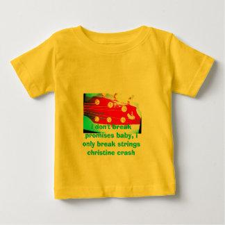 Camiseta Para Bebê infant///i não quebram o bebê das promessas, i em…