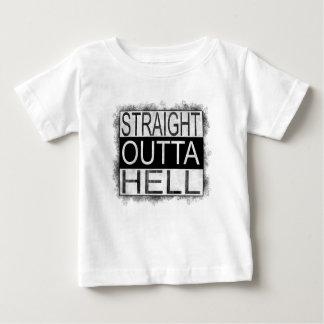 Camiseta Para Bebê INFERNO reto do outta